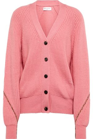 Victoria Beckham X The Woolmark Company wool cardigan
