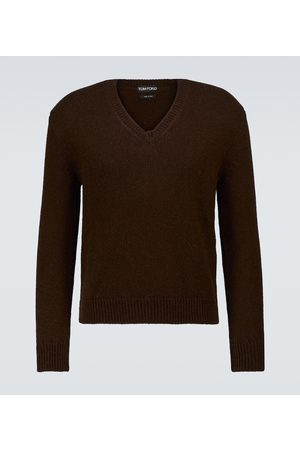 Tom Ford V-neck wool-blend sweater