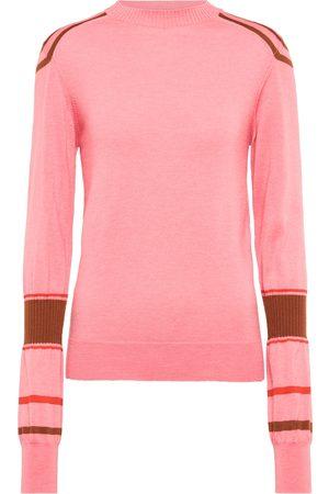 Victoria Beckham X The Woolmark Company striped wool sweater
