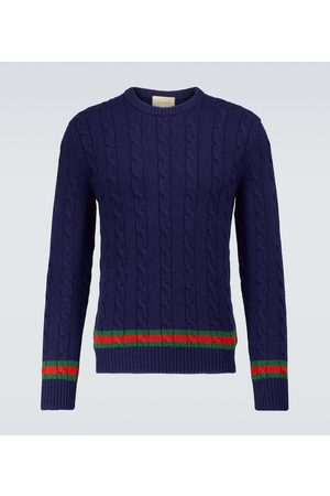 Gucci Cable knit crewneck sweater