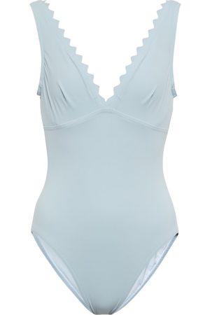 Karla Colletto Inés scalloped swimsuit