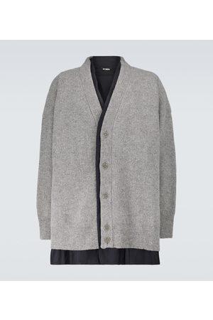 RAF SIMONS Layered wool cardigan