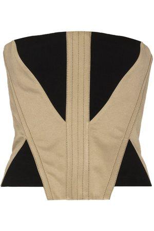 DION LEE Women Corsets - Fork Frame corset top